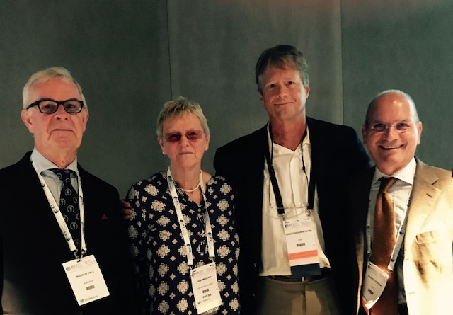 Dr. Payne with Faculty at the ICS Meeting in Florence